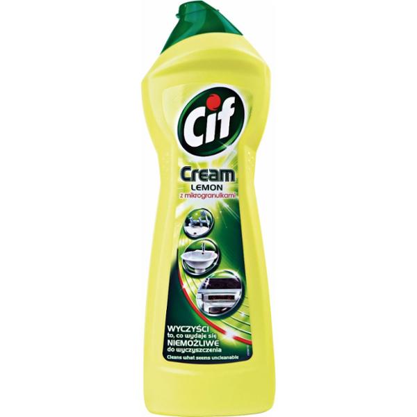Cif Cream LEMON, 500ml