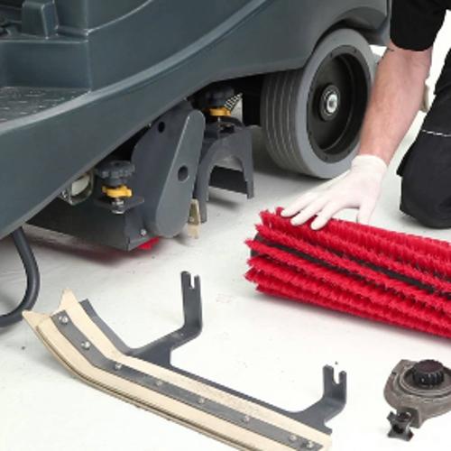 puhastusmasinate hooldus